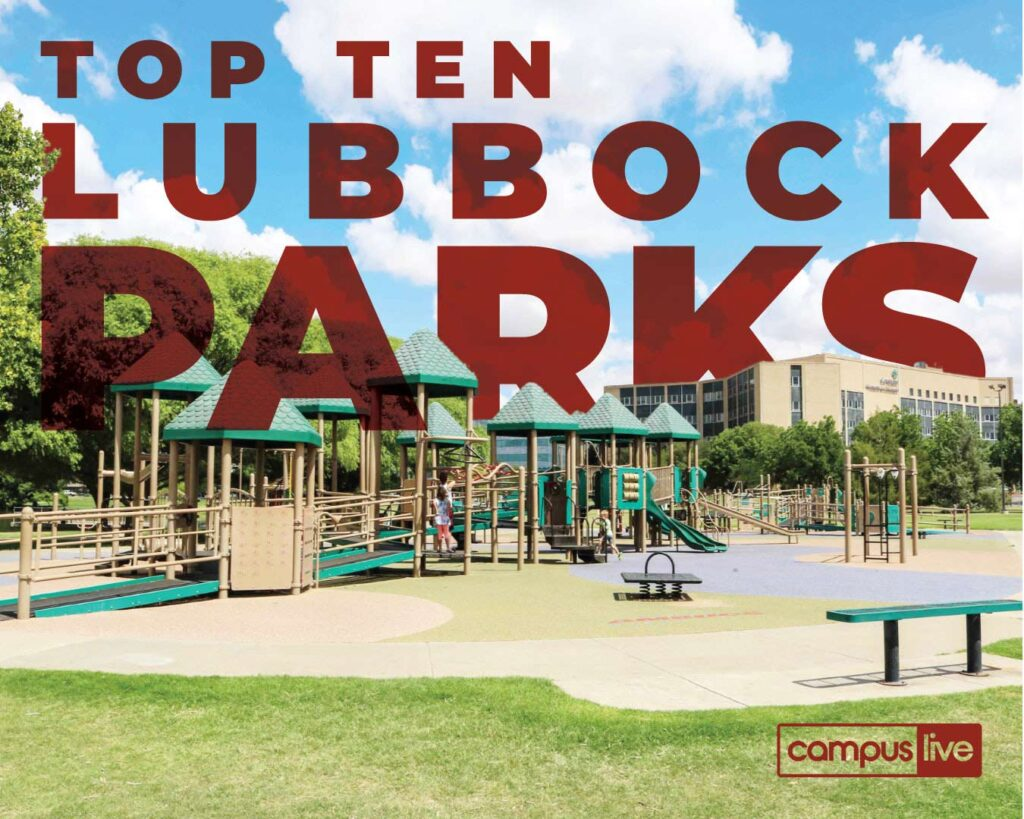 graphic of one of Lubbock's parks