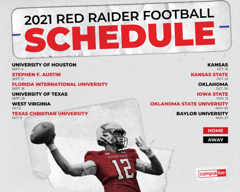 2021 football schedule